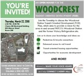 WOODCREST TOD Meeting.