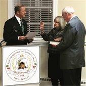 Jacobs takes oath