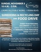 Shredding & Recycling Day