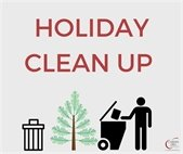Holiday Clean Up